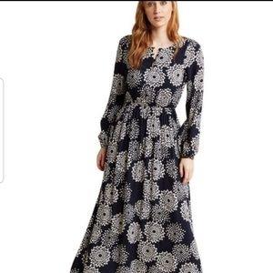 Sunny Girl Mod Cloth Floral Maxi Dress